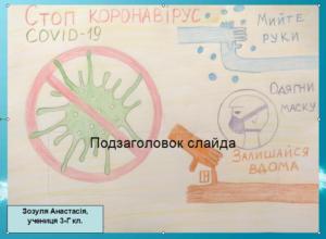 Зозуля Анастасія 3-Г кл.