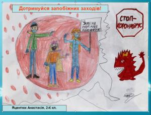 Яцентюк Анастасія 2К кл.